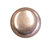 94.6lY: C.S.Osborne & Co. No. 6940-CP 1/2 - Copper Plated Nail - Flat Head/ post : 1.3cm head