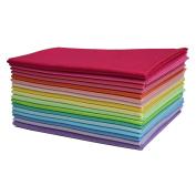 iNee 17 Fat Quarters Quilting Fabric Bundles, 46cm x 60cm