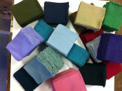 Knit/knitted Cuff, Rib Knit Fabric Cuff Assorted Colours - Material for Making Cuffs, Collars and Waistbands, Etc - 10 Pairs/20 Pcs