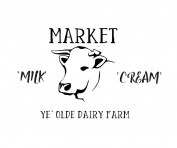 Country-Farmhouse-Cow- Rustic-Market- Dairy- Mylar Stencil, For Painting,Home Decor, Signs, And Crafts,8.5 x 11.5