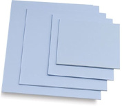 Easy Cut Carving Sheets - 4 Pack Blue Soft & Firm Artist Printmaking Block Printing set for sharp, clear prints Easy-To-Cut Linoleum