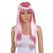 New 8 Colours Long Straight 24 Inches/60cm Anime Costume Fancy Hair Party Wig