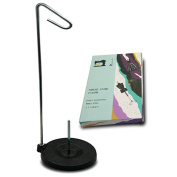 Tosnail Universal Cone and Spool Stand Thread Holder with Sturdy Metal Base