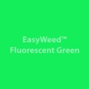 Siser Easyweed Fluorescent Green Heat Transfer Vinyl 12x15 Sheet - Southern Signage - Craft Vinyl - HTV - Siser Easyweed