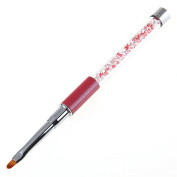 Gotd UV Gel Pen Nail Art Carving Pen Brushes Acrylic Handle Salon Tool