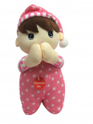 Spanish Prayer Doll Pink - Recites Angel De La Guardia