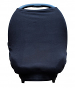 Softest Bamboo Nursing Cover, Baby Car Seat Cover and Infinity Scarf (3-in-1)