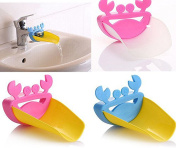 Rainbowlight 1pcs Faucet Extender for Toddlers, Kids, Babies-Sink Handle Extender for Children-Baby Bathroom Accessory Random Colour