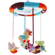 SHILOH Baby Crib Mobile with Musical Box & Holder, King