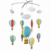 Creative Crib Mobile Crib Decorations Cute Baby Mobile Baby Toy[Hot Air Balloon]
