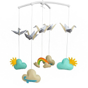 Creative Crib Musical Hanging Rotate Bell Ring Infant Rattle Mobile Toy