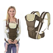 LIVEHITOP Adjustable Baby Carrier Sling, Breathable Infant Wrap Backpack Ergo Front Back for Newborn 0 - 3 Years Babies