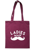 BreadandButterThreads Ladies ManTote Bag 37.5cm x 42cm with long handles