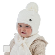 Celebration Baby Girls' Hat Ivory Cream White 46