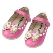 Fulltime(TM) Baby Girls Flower Princess Bow Flats Party Toddler Shoes