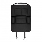 Salcar - Car Back Seat Storage Multi-Pocket Auto Chair Travel Organiser Bag Holder for iPad, iPhone, Book, Umbrella etc.