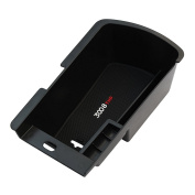 Car organiser For Peugeot 3008 2011-2015 Central Armrest Storage Box stowing tidying Accessories