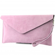modamoda de - Made in Italy Women's Clutch small Baby pink Size
