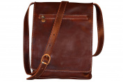 Genuine Italian Leather Crossbody Bag, Unisex Bag, Shoulder Bag