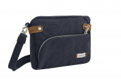 Travelon Anti-theft Heritage Crossbody Bag , Indigo, One Size