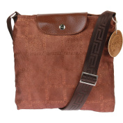 The Boss I am Women's Cross-Body Bag Brown Coffee / Gold