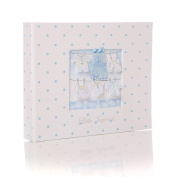 New Baby Boy Hand & Foot Imprint Casting Kit & Keepsake Storage Box Gift Birth