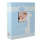 Prince Baby Photo Album for 200 Photos 10 x 15 cm Blue