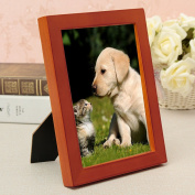 Bargain World 20cm Scaffolding Frame Picture Frames Wooden Standing Photo Frames Home Decoration
