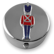 Sterling silver toy soldier tooth box