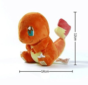 kawaii Pokemon Plush Toys Charmander 12cm Cute Stuffed Plush Toy Doll Anieme Pokemon For Kids Birthday Christmas Gift