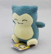 "1pcs 6""15cm Pokemon Plush Toy Snorlax Plush Anime New Rare Soft Stuffed Animal Doll For Kid"