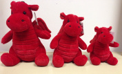 Small Plush Welsh Dragon Souvenir Soft Toy