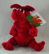 Mini Plush Welsh Dragon Souvenir Soft Toy