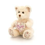 Belle Rose 'MUM' Bear with Heart