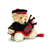 Scottish Piper Bear 15cm by Keel Toys