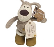 Boofle Winter Range Medium Boofle 25cm Toy Wearing Boots
