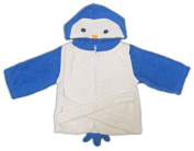 Hooded baby towel from Lexikind | Cosy terry bathrobe poncho | Baby towel with hood | Cute hooded towel