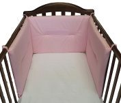 Cot bumper on Three Sides Willy & Co. New colours made in Italy pink