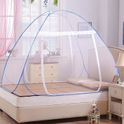 Free installation of steel yurts nets collapse a single encryption for mosquito nets