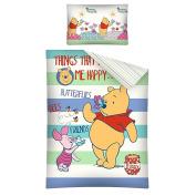 Winnie the Pooh Friends Baby Bedlinen Set 100 x 135/40 x 60 cm