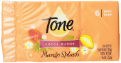 Tone Cocoa Butter Mango Splash with Vitamin E Bath Bar, 130ml, 6 Count by T.One