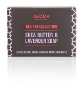 Ghana Red Red, Shea Butter & Lavender Soap