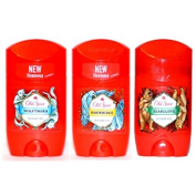 Set of 3 Old Spice Wild Collection Deodorant Stick Wild Range Series Wow