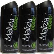 Malizia Uomo Vetyver Deodorant 150ml)