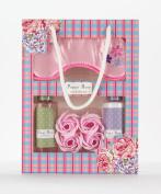 Poppy Rose Bath Gift Set & Eye Patch