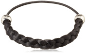 Solida Kunsthaarzopfabbinder Mary, Classic Braided with Elastic Strap, 6.00 cm Colour Size 7 - Black