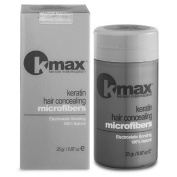 K-Max 25 G GREY DARK Powder hair 100% Natural - Gives of Volume, Mask l'alopecia