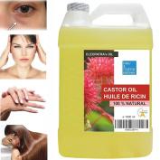 Pure 100 % Natural Castor Oil 1000 ml - Hair, Nails, Face & Body Moisturiser