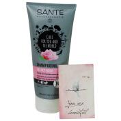 SANTE - Velvet Rose Shampoo - Provides all hair types with shine and volume - Vegan & Gluten-Free