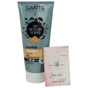 SANTE - Lava Power Shampoo with Kaolin Clay - Reduces dandruff naturally - Vegan & Gluten-Free